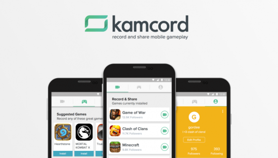 Kamcord_Android_uygulama