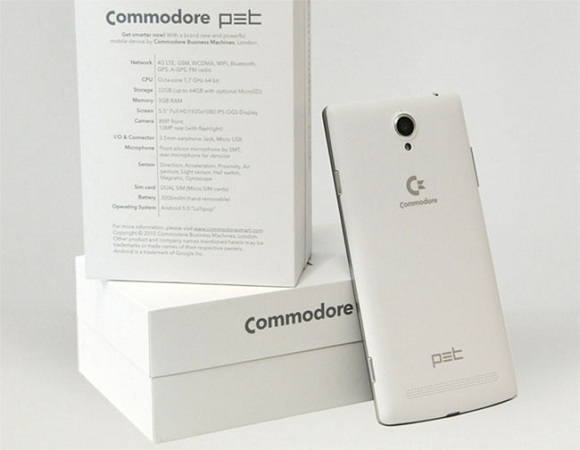 commodore pet android telefon