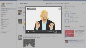 facebook videoları için reklam geliyor