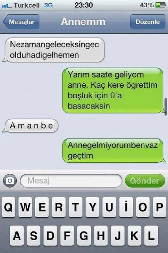 whatsapp mesajlaşmaları