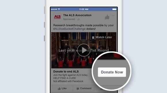 facebook bağış yap