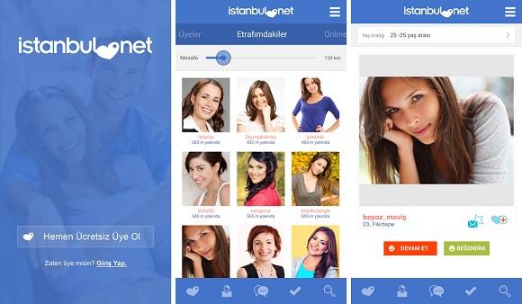 istanbul.net ios uygulaması