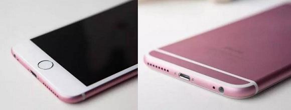 gül rengi iphone