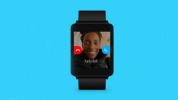 Android Wear cihazlara Skype desteği