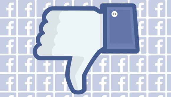 facebook'dan dislike butonu