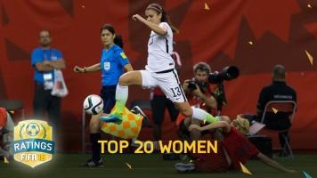 FIFA 16'nın en güçlü kadın futbolcuları
