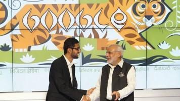 Google Hindistan'da istasyonlara ücretsiz wi-fi kuruyor