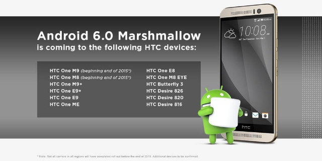 htc android 6.0 android marshmallow