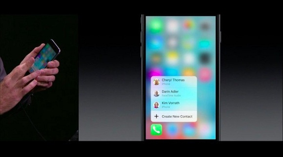3d dokunmatik ekran