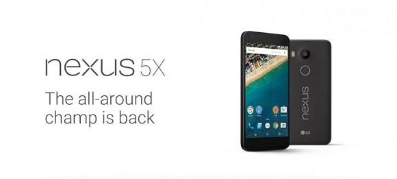 LG Nexus 5X Resmen Tanıtıldı