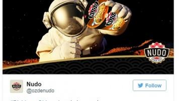 Mars'ta su bulunmasıyla ilgili markalardan komik paylaşımlar