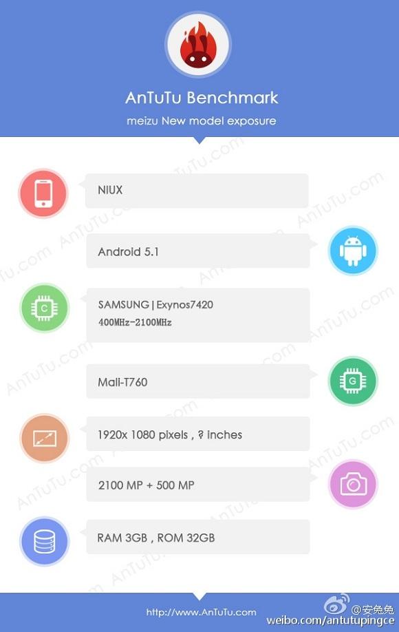 meizu me5 özellikleri