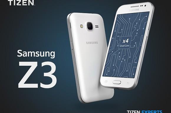 Tizen işletim sistemli Samsung Z3