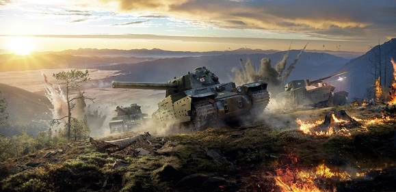 World of Tanks PlayStation 4'e geliyor!