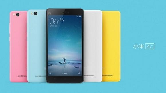 Xiaomi Mi 4c resmi olarak tanıtıldı