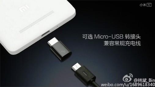 Xiaomi Mi 4c Snapdragon 808 ve USB Type-C ile geliyor