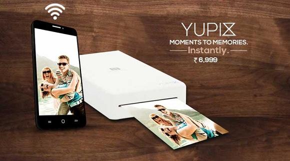 YuPix taşınabilir fotoğraf yazıcısı