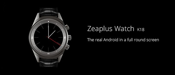 Zeaplus K18 akıllı saat oldukça iyi görünüyor