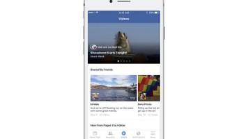 Facebook'a özel video sekmesi geliyor!