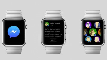 Facebook Mesenger sonunda Apple Watch'da