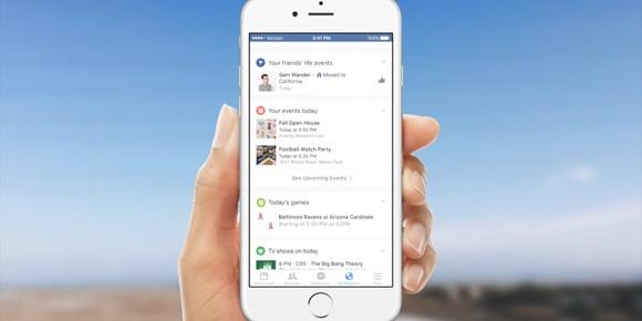 facebook mobil'de bildirim sistemi değişiyor