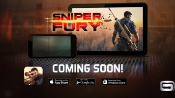 Gameloft Sniper Fury adlı yeni oyununu duyurdu!
