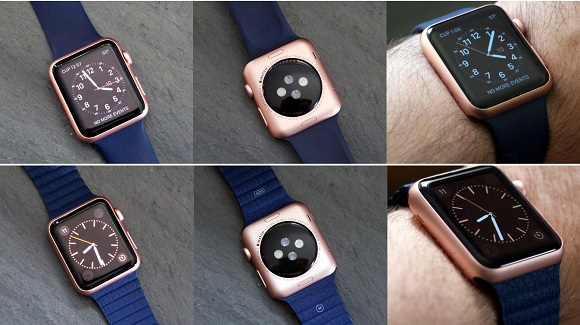 rose altın renki apple watch