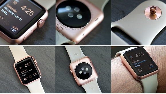 rose altın renki apple watch sport