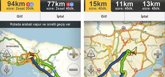Yandex.Navigasyon'a yeni özellikler geldi!