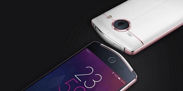 21 megapiksel ön kameralı : Meitu V4