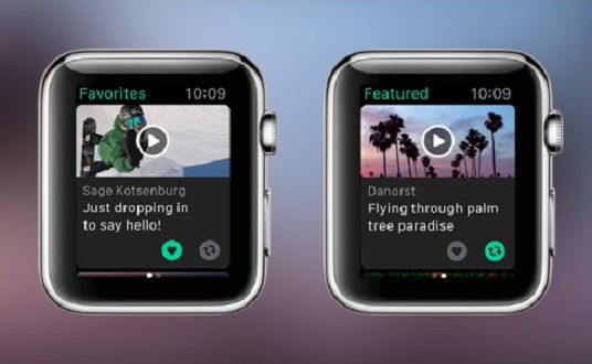 apple watch vine uygulaması