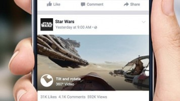 Facebook 360 derece video desteğini iOS'a getirdi!