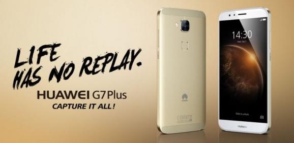 Huawei G7 Plus resmen tanıtıldı!