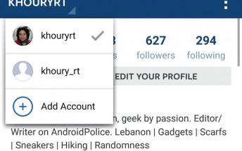 instagram çoklu profil