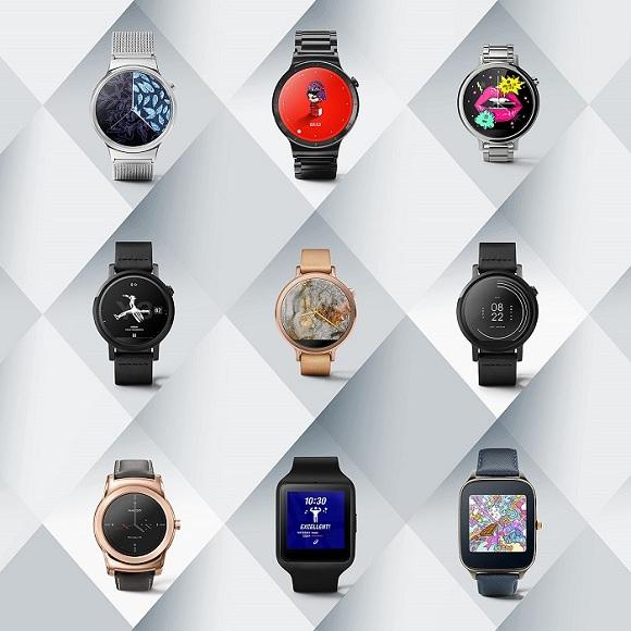 android wear saat yüzleri