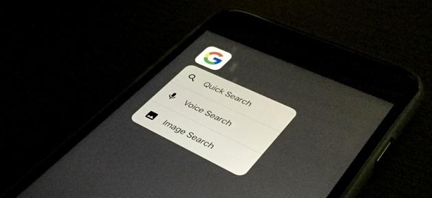 Google ve Tumblr uygulamasına 3D Touch desteği!