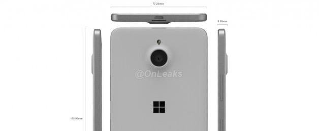 Lumia 850 özellikleri ve görselleri sızdırıldı!