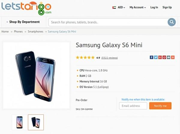 samsung galaxy s6 mini