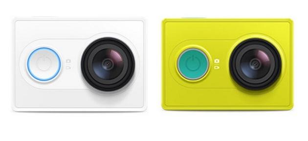 Xiaomi'nin aksiyon kamerası satışta!