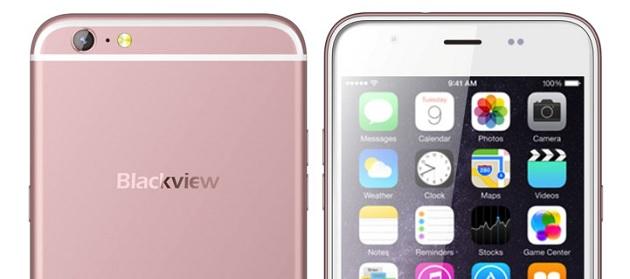 iPhone 6S Plus kopyası : Blackview Ultra Plus!