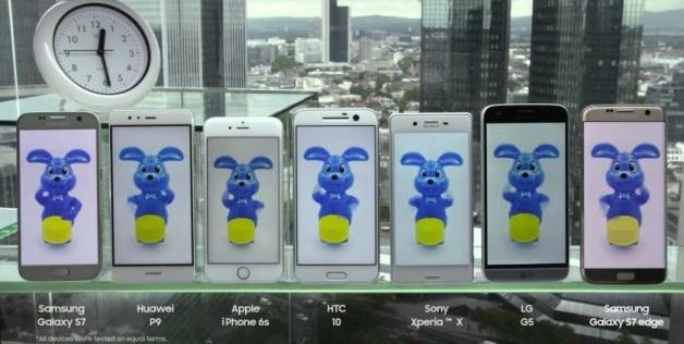 Galaxy S7 batarya testinde zirvede!