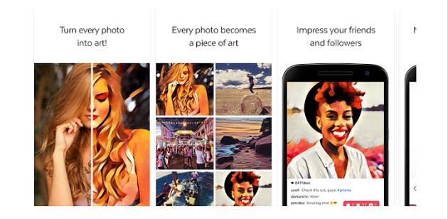 Prisma uygulaması sonunda Android'de!