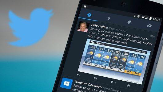 Twitter uygulamasına gece modu özelliği!
