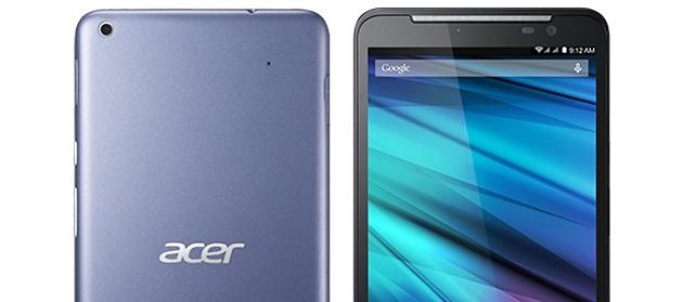 Acer firmasından devasa akıllı telefon : Iconia Talk S