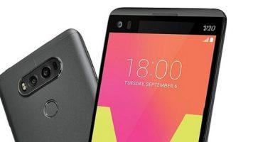 LG yeni bombasını resmen tanıttı : LG V20