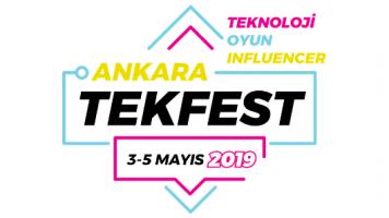 Tekfest Ankara Oyun ve Teknoloji Festivali Kapılarını Açmaya Hazırlanıyor