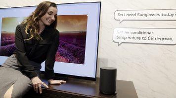 LG Sesle Yönetilebilen Ev Ürünlerini Yaygınlaştırıyor