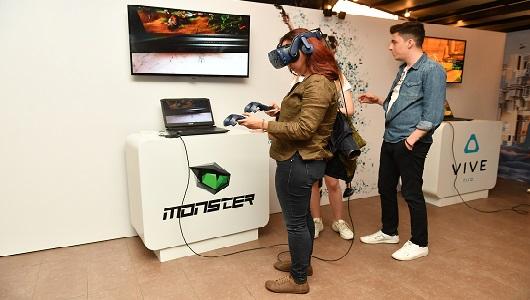 Monster Notebook Yeni Nesil VR'a Hazır Olduğunu Gösterdi