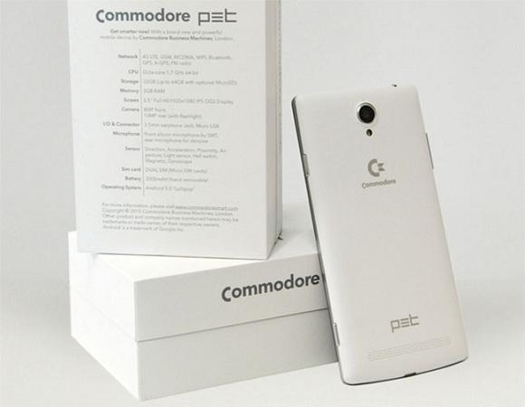 commodore pet android telefon