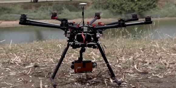 lg g4 drone ile video çekim